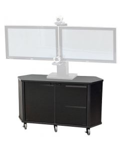 Wide Monitor Cart