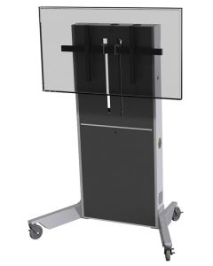 Mobile Lift Stand for Single/Dual Monitors