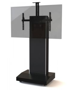Mobile Telepresence Stand For Single/Dual Monitors