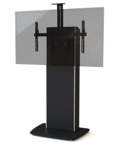 Fixed Base Telepresence Stand for Single/Dual Monitors