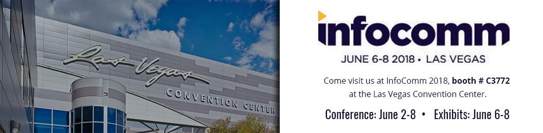 infocomm Exhibits in Las Vegas 2018