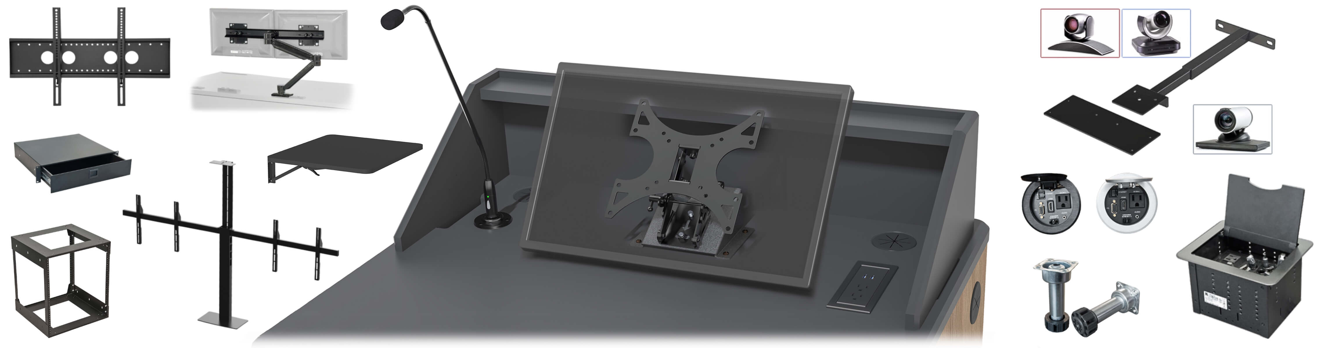 Stands & Mounts Options