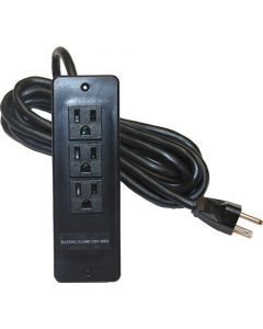 Surface Mounted 3-outlet 120V Power bar