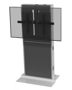 Fixed Lift Stand For Single/Dual Monitors