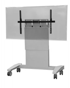 Heavy Duty Mobile Lift Stand For Single/Dual Monitors