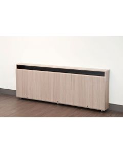 Triple Rack Wall Mounted Credenza